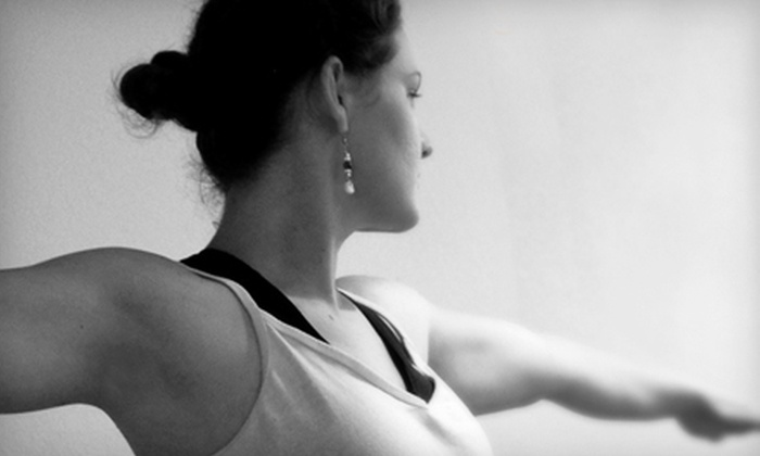 Day Yoga Studio - University Park: One Month of Unlimited Yoga Classes or a Five-Class Pass to Day Yoga Studio