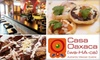 Casa Oaxaca - OUT OF BUSINESS - Adams Morgan: $15 for $35 Worth of Authentic Mexican Cuisine and Drinks at Casa Oaxaca