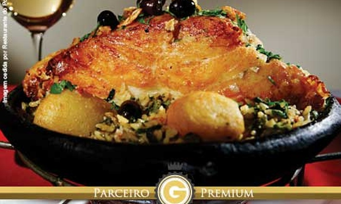 Restaurante do Porto - Belo Horizonte: Restaurante do Porto – Cidade Nova: almoço ou jantar com 7 opções + sobremesa, para 2 ou 4 pessoas, a partir de R$ 99,90