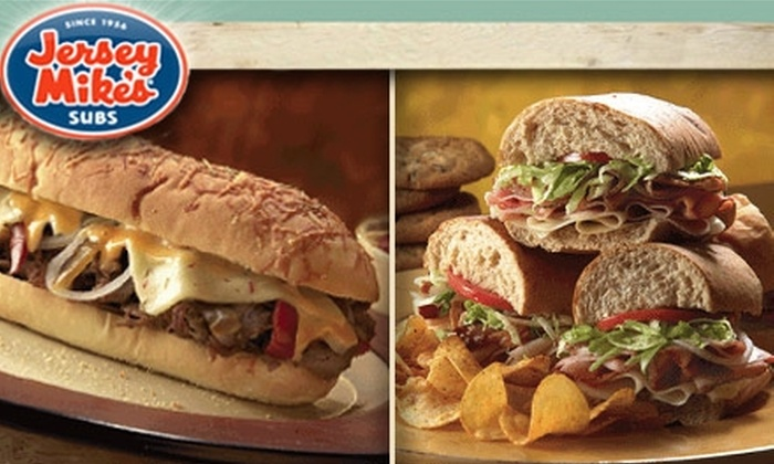 Jersey Mike's Subs - University Place: $7 for $15 Worth of Sub Sandwiches at Jersey Mike's Subs