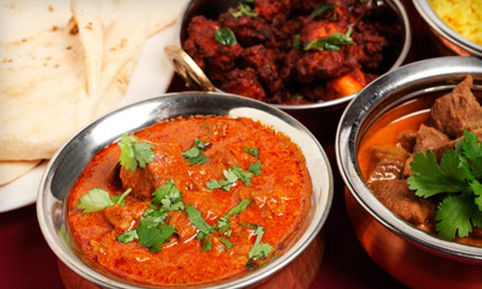 Rajput Indian Cuisine - Multiple Locations: Six-Course Dinner for Two or $15 for $30 Worth of Indian Fare at Rajput Indian Cuisine