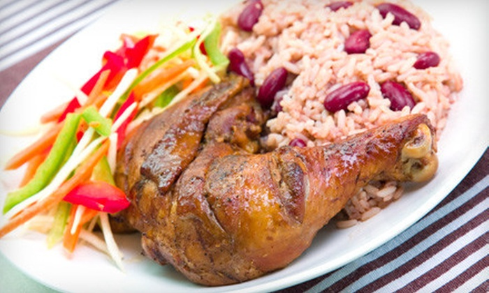 Lorenz Island Kuisine - Codman Square - East Codman Hill: Caribbean Dinner for Two or Four at Lorenz Island Kuisine in Dorchester (Up to 55% Off)