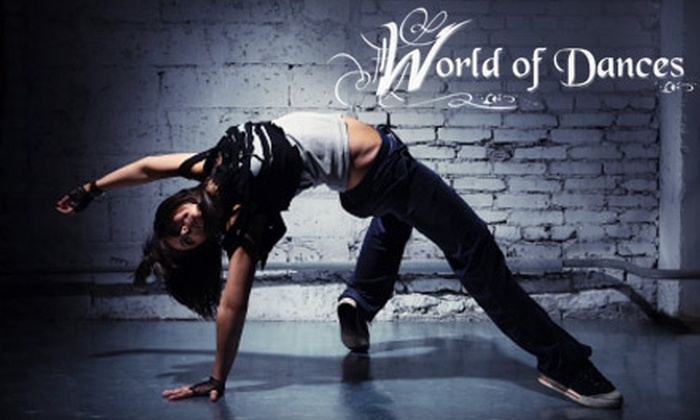 World of Dances - Cuyahoga Falls: $15 for Two Belly-Dance or Zumba Classes from World of Dances ($30 Value)
