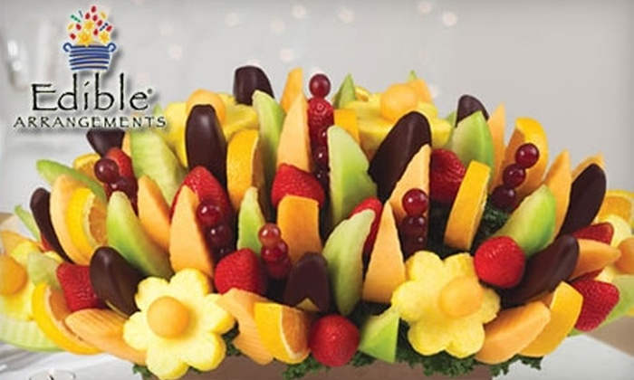 Edible Arrangements - Multiple Locations: Box of Chocolate-Dipped Fruit or Fresh-Fruit Bouquets at Edible Arrangements. Choose Between Two Options.