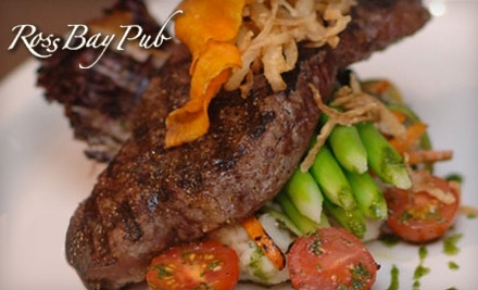 Ross Bay Pub: $30 Groupon toward Dinner Menu - Ross Bay Pub in Victoria