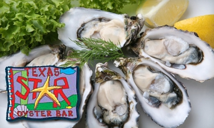 Texas Star Oyster Bar - Las Vegas: $15 for $30 Worth of Fresh Seafood and Drinks at Texas Star Oyster Bar in North Las Vegas