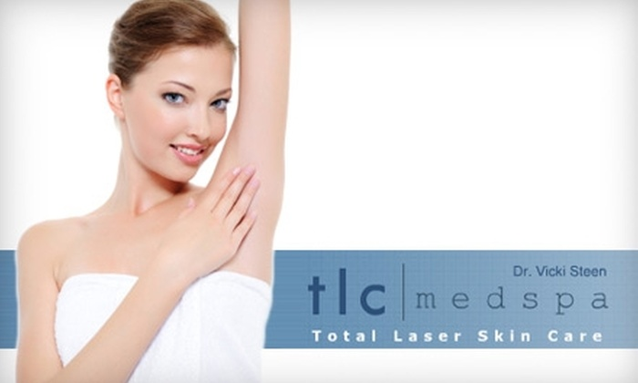 TLC MedSpa - 1: $129 for Six Laser Hair-Removal Treatments at TLC MedSpa in Covington (Up to $800 Value)
