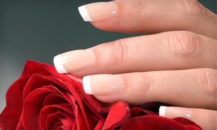 Nails by Amanda at Deeva Hair - Cambridge: Gel-Polish Manicure or Set of Sculpted UV Gel Nails from Nails by Amanda at Deeva Hair (Up to 53% Off)
