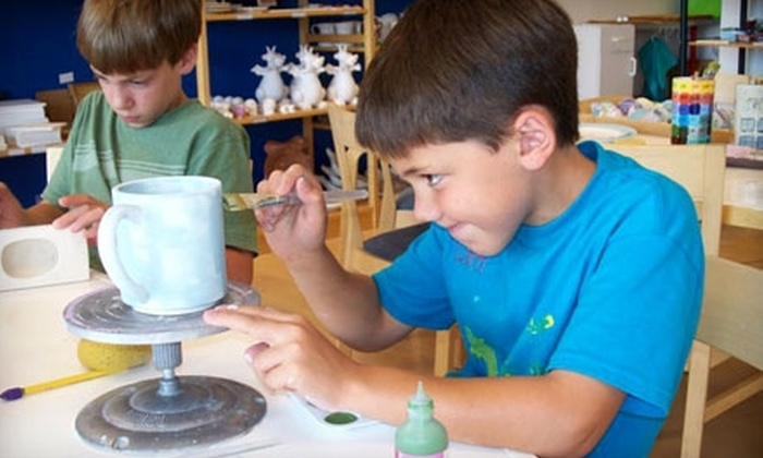 Claytopia - Millcreek: $12 for $25 Worth of Paint-Your-Own Pottery at Claytopia