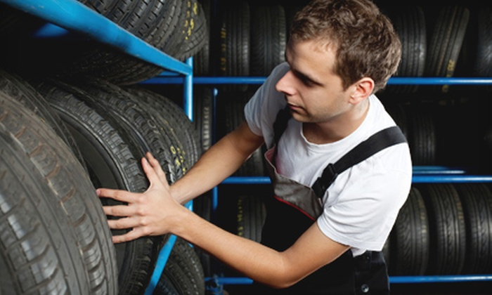 401 Dixie Suzuki - Mississauga: Oil Change and Winter Tire Installation Package at Aden Automotive in Mississauga (Up to 76% Off). Three Options Available.