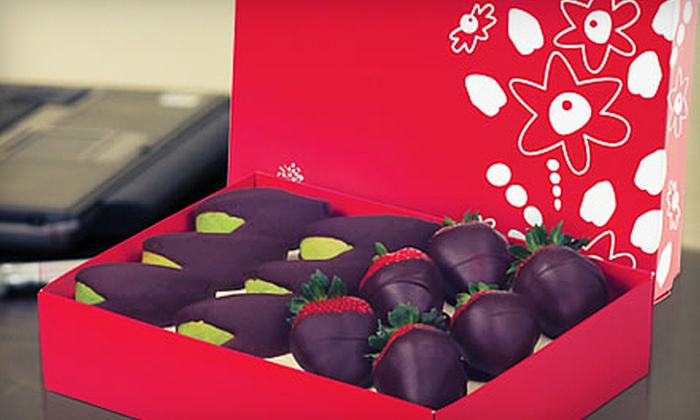 Edible Arrangements - Multiple Locations: $14 for a Box of Chocolate-Covered Strawberries or Apple Wedges from Edible Arrangements ($29 Value)