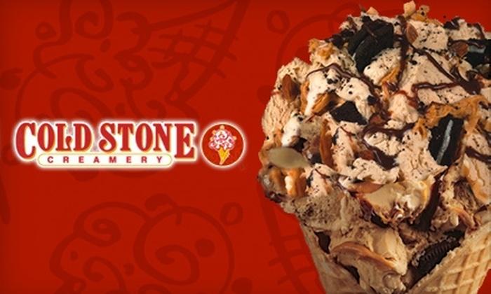 Cold Stone Creamery - Lubbock: $5 for $10 Worth of Cold Stone Creamery Ice Cream