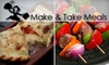 Make & Take Meals - Derby: $12 for $25 Worth of Homemade Pre-Prepared Entrees from Make & Take Meals