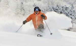 Magic Mountain Ski Resort: Lift Ticket or Tubing at Magic Mountain Ski Resort (Up to 55% Off). Five Options Available.