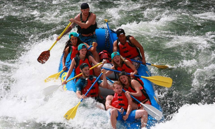 Imperial River Company - Maupin: 13-Mile Half-Day Rafting Adventure for Up to Four or Seven from Imperial River Company (Up to 43% Off)