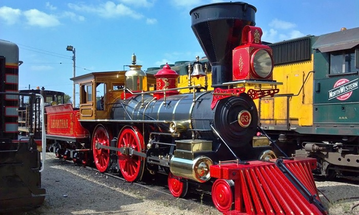 Illinois Railway Museum - Evergreen Park: Weekday or Weekend Admission for One, Two, or Four at Illinois Railway Museum (Up to 50% Off)