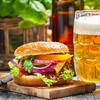 One Domestic Draft Beer with Purchase of Any Entree