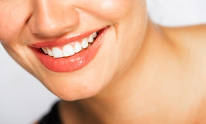 Pure Dental: Dental Exam with Options for PerioSciences or At-Home or Zoom Whitening at Pure Dental (Up to 89% Value)