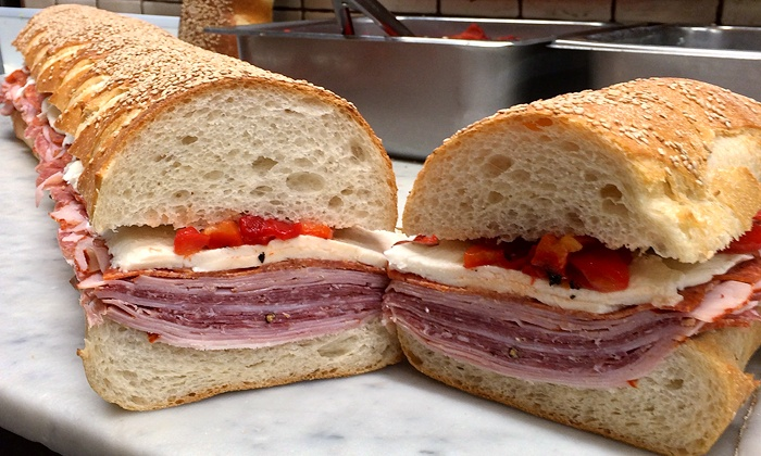 null - New York City: Sandwiches at Lioni Italian Heroes (Up to  Off)
