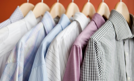 Dry Cleaning or Wedding Dress Preservation at Sylvia's Cleaners (Up to 45% Off). Three Options Available.