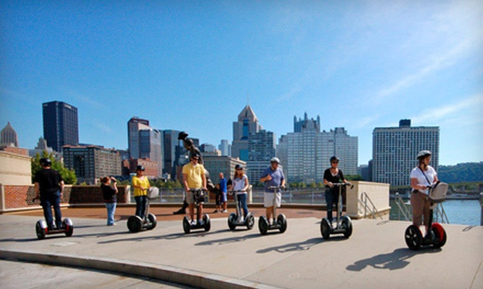 Segway in Paradise - South Shore: $29 for a Two-Hour Segway Tour of Pittsburgh from Segway in Paradise (Up to $59 Value)
