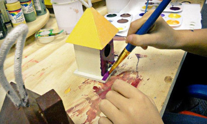 Young at Art Seattle - Fairmount Park: Five Kids' Drop-In Art Classes, or a Kids' or Adults' Workshop at Young at Art (Up to 61% Off). Five Options Available.