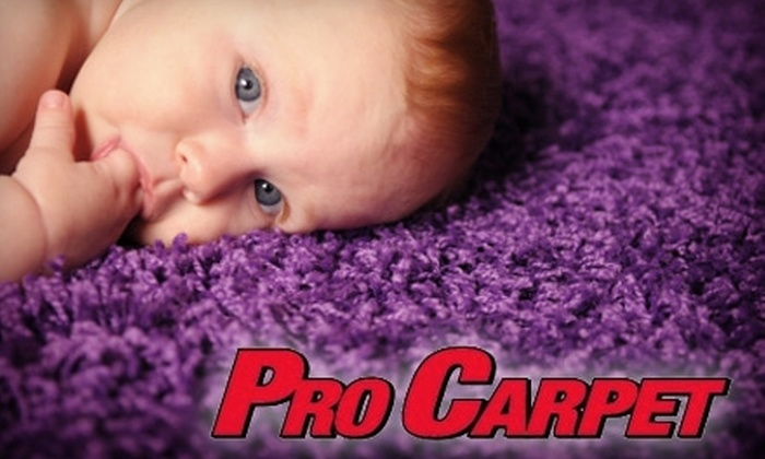 Pro Carpet - Woodstock: $30 for $60 Toward Carpet, Air Duct, Upholstery, and Tile and Grout Cleaning Services from Pro Carpet