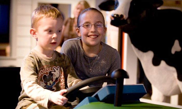 Phelps Youth Pavilion - Waterloo: $10 for a Family Pack of Four Admissions to the Phelps Youth Pavilion in Waterloo ($20 Value)