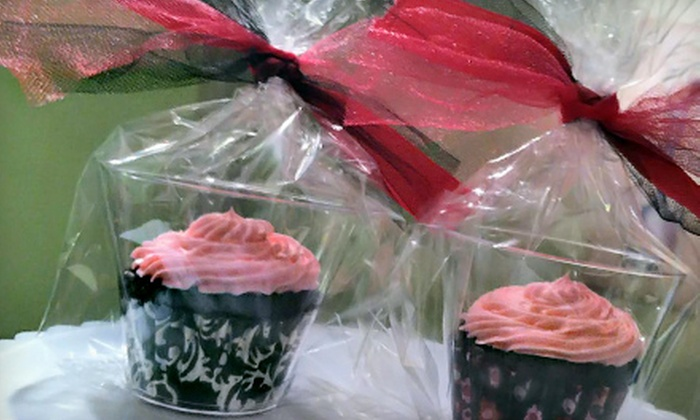 4 Goodness Cakes - South Side: Two Dozen Gourmet Cupcakes or a Custom Cake at 4 Goodness Cakes