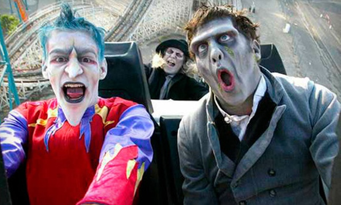 Six Flags America - Woodmore: $26 for All-Day Park Access and Fright Fest Admission at Six Flags America in Upper Marlboro (Up to $56.99 Value)