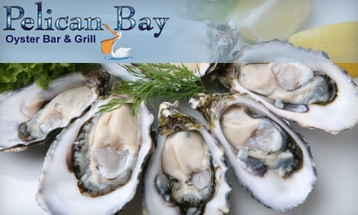 Pelican Bay Oyster Bar - Phoenix: $20 for $40 Worth of Dinner or $10 for $20 Worth of Lunch at Pelican Bay Oyster Bar