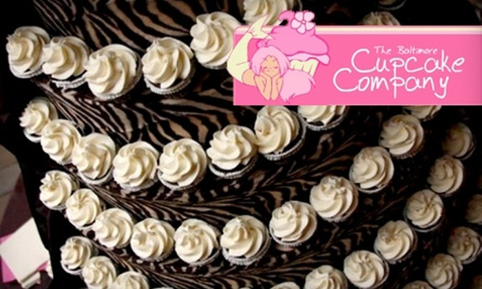 The Baltimore Cupcake Company - Baton Rouge: $59 for a Custom-Designed Cupcake Stand, Award-Winning Recipe, and Shipping From The Baltimore Cupcake Company (Up to a $179 Value)