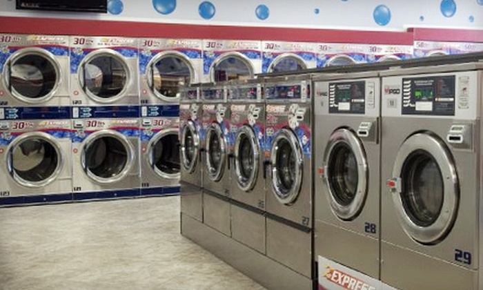 Blue Bubble Express Laundromat - Old North Columbus: $20 for a $50 Laundry Card at Blue Bubble Express Laundromat