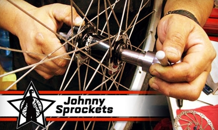 Johnny Sprockets - Multiple Locations: $35 for Bike Tune-Up at Johnny Sprockets ($75 Value)