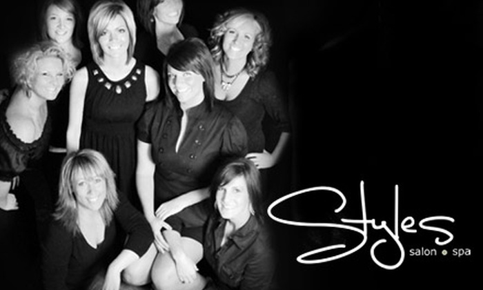 Styles Salon & Spa - Cross Plains: Luxury Spa Treatment at Styles Salon & Spa. Choose from Facial, Massage, or Hydrotherapy Body Treatment.