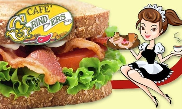 Grinders Café - Southide Estates: $7 for $15 Worth of Comfort Food at Grinders Café