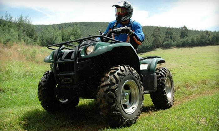 Asheville 4 Wheeler Rentals - Hot Springs: $69 for Two-Hour ATV Rental from Asheville 4 Wheeler Rentals in Hot Springs ($190 Value)