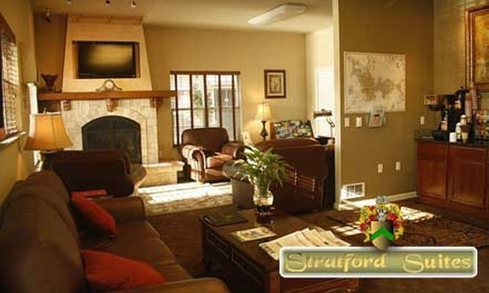 Stratford Suites - Airway Heights: $79 for a One-Night Stay in a Two-Bedroom Suite Plus a Bottle of Wine at Stratford Suites ($180.68 Value)