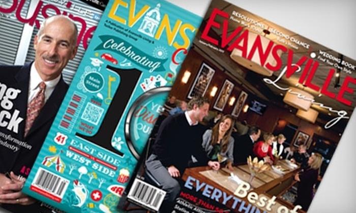 Evansville Living Magazine - Evansville: $14 for Two-Year Subscription to Evansville Living Magazine ($29 Value)