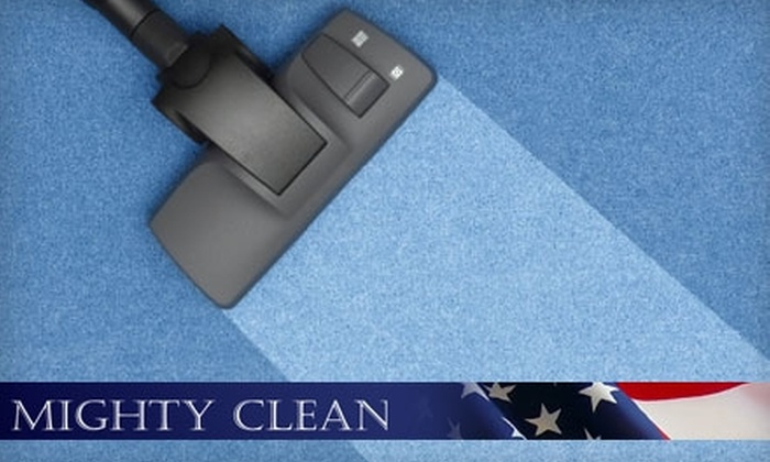 Mighty Clean - El Paso: $59 for a Refresher Carpet Cleaning in Up to Three Bedrooms, One Hallway, and One Living Room from Mighty Clean (Up to $195 Value)