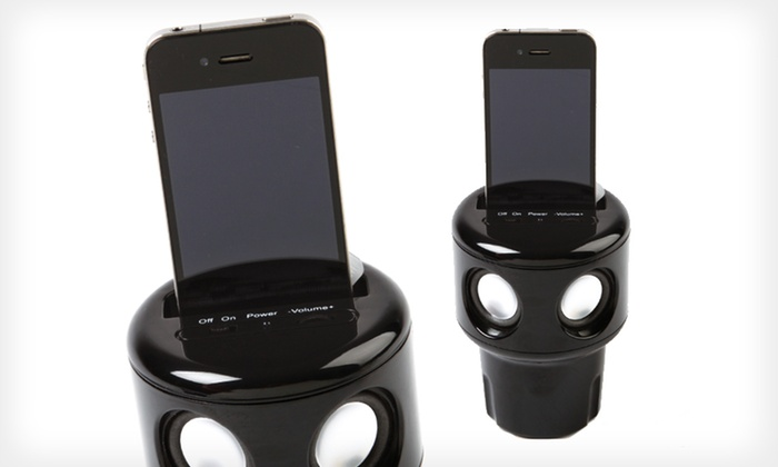 AutoTunes Cup-Holder Speaker: $18 for a Kagan Unlimited AutoTunes Cup-Holder Speaker ($49.99 List Price). Free Shipping and Free Returns.