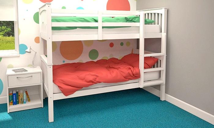 Atlantis Bunk Bed Frame Groupon Goods