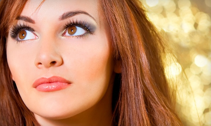 The NailPort Nail Salon - Salt Lake City: $89 for a Full Set of Silk or Mink Eyelash Extensions with Sealant at The NailPort Nail Salon in Sandy ($230 Value)