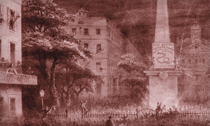 The Savannah Walks - Historic District - North: $13 for a Walking Ghost Tour for Two from The Savannah Walks (Up to $27 Value)