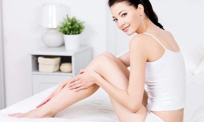 Aura Laser Skin Care - Multiple Locations: Up to 12 Laser Hair-Removal Treatments (Up to 80% Off). Four Options Available.