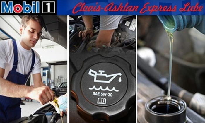 Clovis-Ashlan Express Lube - Tarpey Village: $17 for a Standard Oil Change at Clovis-Ashlan Express Lube ($34.95 Value)