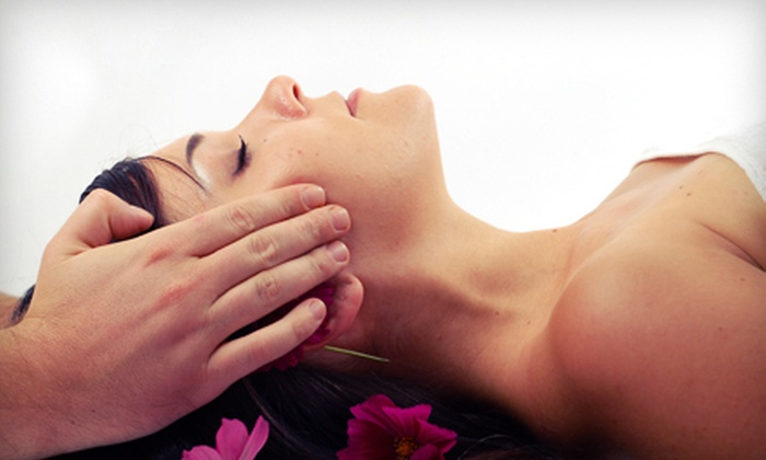 Lyn Anthony Salon and Spa - South Federal: Custom Facial or Massage with Shampoo, Condition, and Blowdry Hair Package at Lyn Anthony Salon and Spa in Hollywood ((Up to 66% Off)