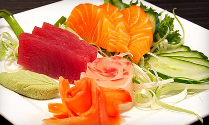 Sushi Kai - Midtown Toronto: $20 for a $40 Worth of Sushi and Japanese Fare at Sushi Kai