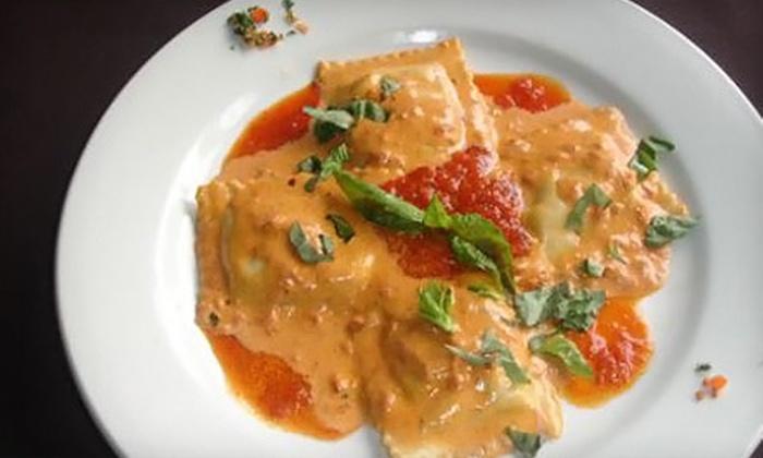 La Piazza Dario - Renfrew-Collingwood: Italian Lunch for Two or $25 for $50 Worth of Italian Fare during Dinner at La Piazza Dario