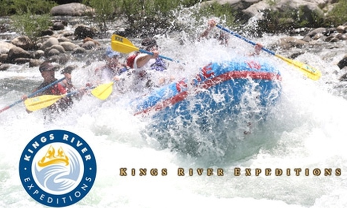 Kings River Expeditions - Fresno: $49 for One-Day Kings River Rafting Trip Including BBQ Lunch with Kings River Expeditions ($99 Value)